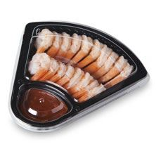 Shrimp Wedge, Includes Sauce, 6oz., Prepared in Store, Ready to Eat