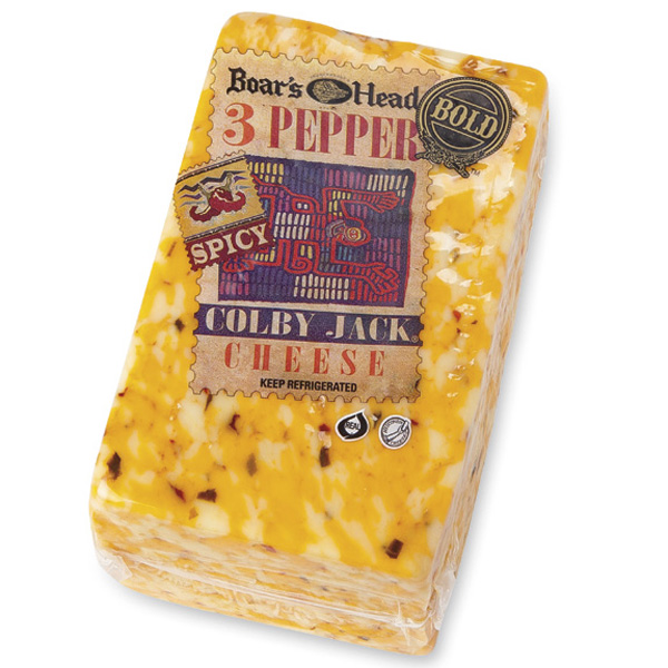 Boar's Head 3-Pepper Colby Jack® Cheese