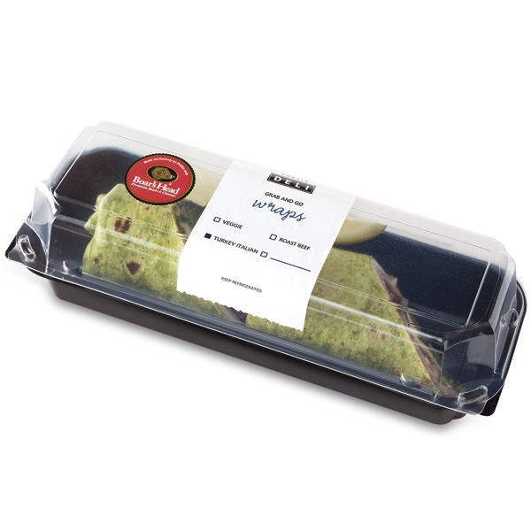 Bh Turkey Italian Grab & Go Wrap