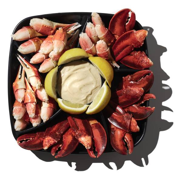 Seafood Claw Platter, Small, 56 Oz Ready-To-Eat