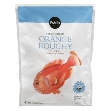 Publix Orange Roughy Fillets, Frozen, Wild