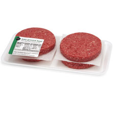 Lean Ground Beef Burgers, 7% Fat Publix Beef, USDA Inspected