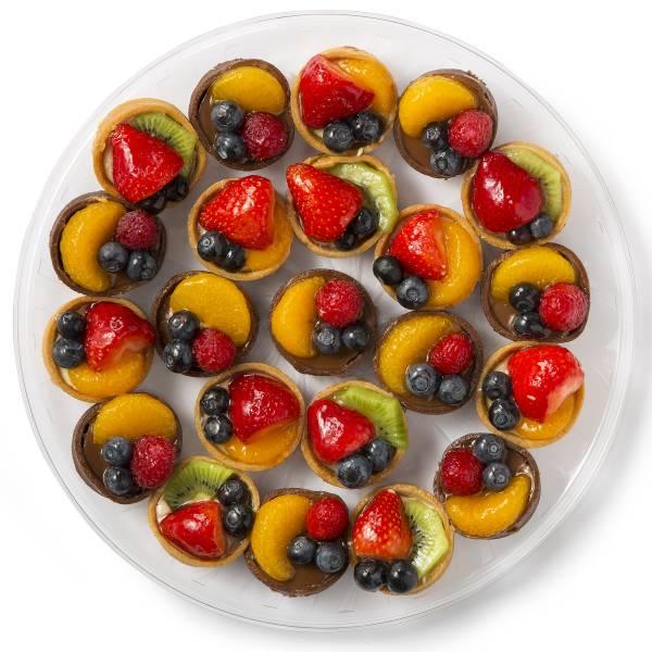 Fresh Fruit Tart Platter Medium 22 Count