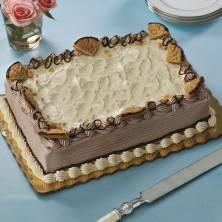Chocolate Peanut Butter Magic Cake