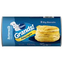 Pillsbury Grands! Biscuits, Big, Flaky Layers, Buttermilk