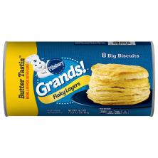 Pillsbury Grands! Biscuits, Flaky Layers, Butter Tastin'
