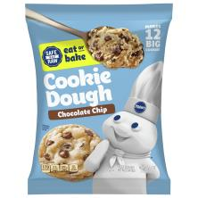 Pillsbury Big Deluxe Cookie Dough, Chocolate Chip