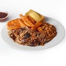 Publix Deli Pulled Pork Dinner G&G