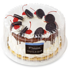 8 In Premium Cookies Cream Ice Cake