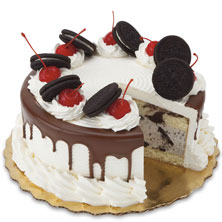 Cake 8 In Premium Cookies Cream Ice