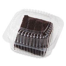 Cake Slice Choc Fudge Iced