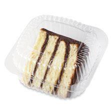 Cake Slice Vanilla Fudge Iced