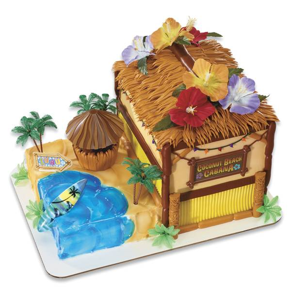Coconut Beach Cabana Signature Cake