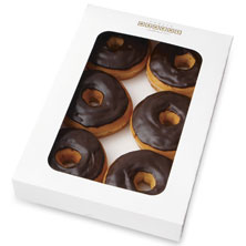 Chocolate-Iced Donuts 6-Count