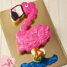 Flamingo Pull a Part Cupcakes 28 Count