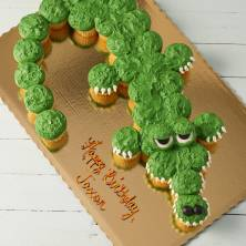 Gator Pull a Part Cupcakes 30 Count