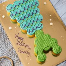 Mermaid Tail Pull a Part Cupcakes 24 Count