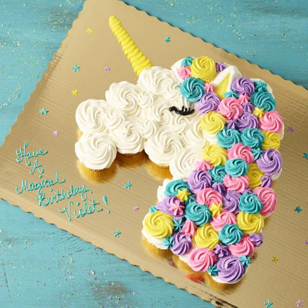 Publix Bakery Unicorn Pull A Part Cupcakes 25 Count