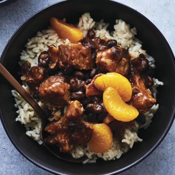 Brazilian-Style Pork Stew with Rice