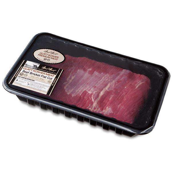 Alle Beef Brisket Flat Cut, Kosher Beef