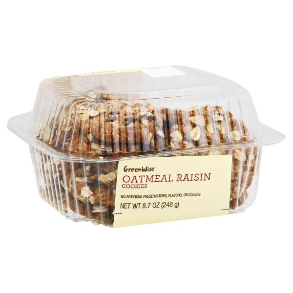 GreenWise Oatmeal Raisin Cookies 16-Count