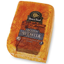 Boar's Head Muenster Cheese, Low Sodium