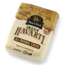 Boar's Head Cream Havarti Cheese, Plain