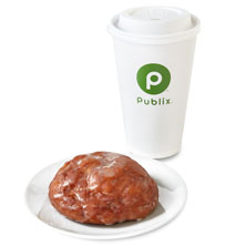 Coffee & Donut Large Combo