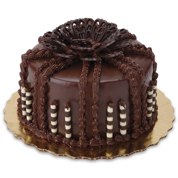 Chocolate Ganache Supreme Cake