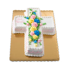 Publix Bakery Cross Cut Out Cake
