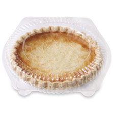 Small Coconut Custard Pie