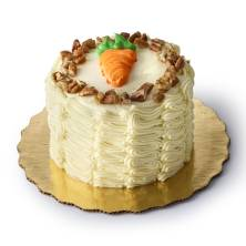 Mini Carrot Cake With Nuts