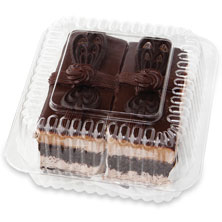 Chocolate Ganache Supreme Cake Slice 2-Count