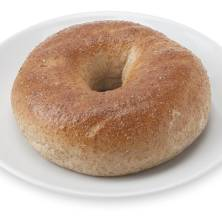 100% Whole Wheat Bagel