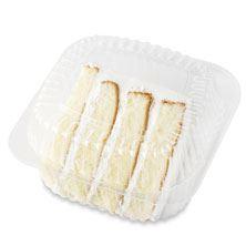 Cake Slice Vanilla Buttercream