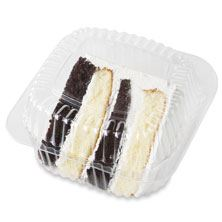 Cake Slice Half & Half Bc