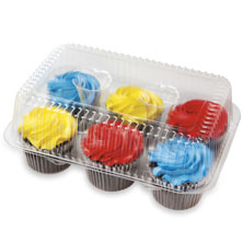 Publix Bakery Buttercream Iced Chocolate Cupcakes 6 Count