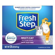 Fresh Step Cat Litter, Clumping, Multi-Cat, Scented