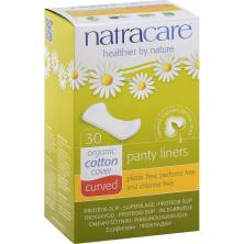 Natracare Panty Liners, Curved