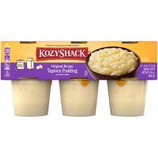 Kozy Shack Pudding, Tapioca, Original Recipe