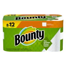 Bounty Paper Towels, Full Sheets, Giant, White, 2-Ply