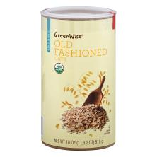 GreenWise Oats, Old Fashioned, Organic