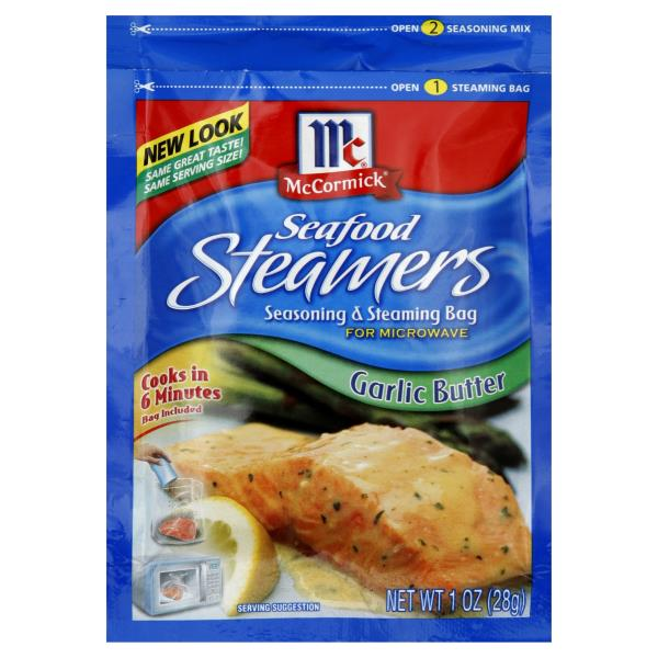 Mccormick Seafood Steamers Seasoning Steaming Bag Garlic Er