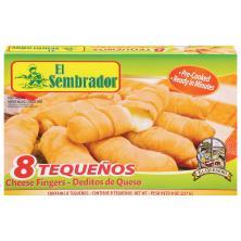 El Sembrador Tequenos, Cheese Fingers (Deditos De Queso) 10-Ct