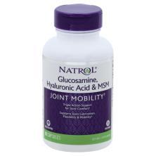 Natrol Hyaluronic Acid MSM & Glucosamine, Capsules
