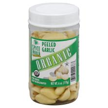 Spice World Garlic, Organic, Peeled