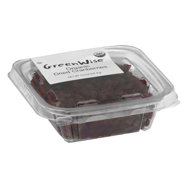 GreenWise Organic Dried Cranberries