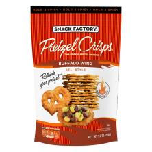 Pretzel Crisps Pretzel Crackers, Deli Style, Buffalo Wing