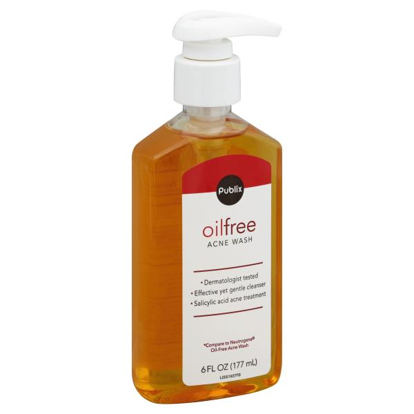Publix Acne Wash, Oil Free