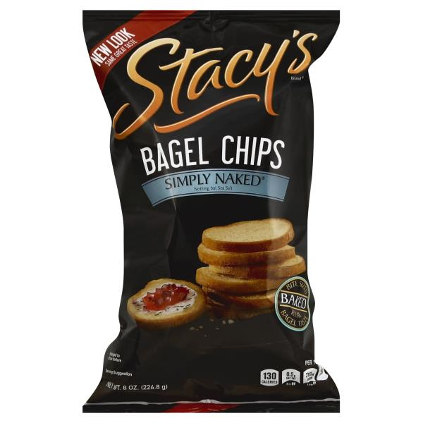 Stacys Bagel Chips, Simply Naked